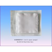 Quality Pure 100% Cotton Sterile Cotton Wool Balls / Unfolded First Aid Gauze for sale