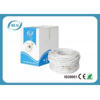 Quality 0.5mm Conductor Cat6 Lan Cable , 4 Pairs UTP Ethernet Cable For Indoor for sale