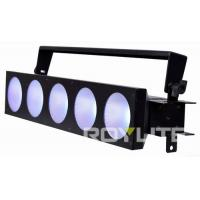 Quality 5 X 30w COB LEDs Show Lighting Beam 60° Stage Blinder Electronic Fan Cooling for sale