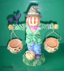 China Polyresin Halloween decoration on sale