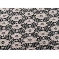 Eco-Friendly Vintage Elastic Lace Fabric For Fashionable Dress CY-DN0003