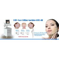Quality Portable 10,000 Shots HIFU Face Lifting Machine With 3 Tips 4.5/3.0/1.5mm for sale