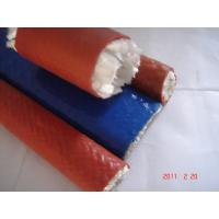 Quality Corrosion Resistant Silicone Coated Fiberglass , 10 - 100mm Diameter for sale