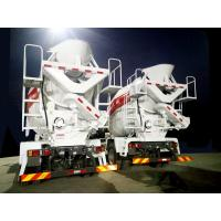 Quality 10 Cubic Meter Concrete Mixer Truck , Fast Feed Rate Ready Mix Truck Durable for sale