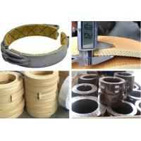 Quality Rubber Based Brake Band Lining , Non Asbestos Woven Brake Lining for sale
