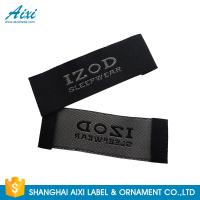 Quality Satin Silk Printing Garment Clothing Label Tags Woven Customize Design for sale