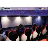 China 3D Glasses 5D Movie Ticket 5D Movie Theater With 5D Motion Ride / Control System on sale
