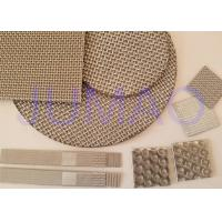Quality Durable Sintered Wire Mesh , Stainless Steel Mesh Screen High Mechanical Strength for sale