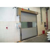 Quality Cleaning Room High Speed PVC Curtain Industrial Roll Up Door Touching Panel for sale