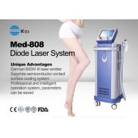 Quality Germany 6 Bar Handpiece Laser Diode 808 Nm Hair Removal Machine , Laser Depilation Machine for sale