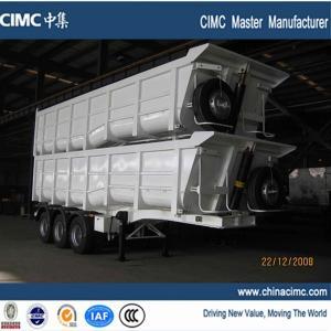 Quality hot selling dump trailer , hydraulic dump trailer , tractor hydraulic dump trailer for sale