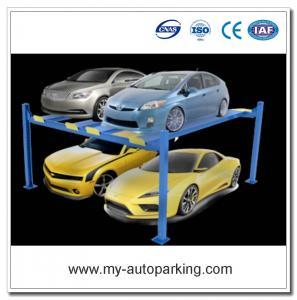 China On Sale! Underground Car Parking Lift Double Car Parking System 4 Post Car Lifts on sale