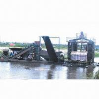 Buy cheap Gold Panning Machine with 50 to 75kW Power Range from wholesalers
