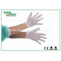 Quality Economic Machine Knitted Seamless Nylon Glove Disposable 40D Lightweight for sale