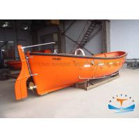 Quality Open Type Lifeboat Rescue Boat FRP Material SOLAS With Polyurethane Foams for sale