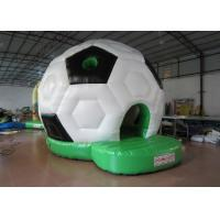 Quality Waterproof PVC Kids Inflatable Bounce House / Classic Inflatable Football Bouncy Castle for sale