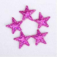 Quality Hologram Shimmer Ultrasonic Embossing Flowers Crafts Shiny Customized Size for sale