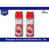 Buy cheap 300ml Household Canned Air Freshener Sprays With Tinplate Material from Wholesalers