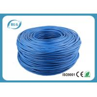 Quality Networking Cat 6 Network Cable 1000 FT 4 Pairs Unshield BC / CCA Customized Color for sale