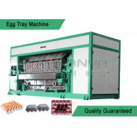 Quality High Output Pulp Molding Machine / Recycled Paper Pulp Moulding Machinery for sale