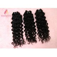 Quality Clean And Silky Virgin Human Italian Wave Bundles Without Synthetic Hair for sale