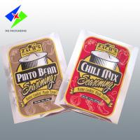 Quality Heat Sealable Aluminum Foil Packaging, 3 Side Seal / Flat Pouch For Milk Powder for sale