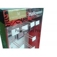 """Quality 48"""" Recyclable Cardboard Hook Display with 20 Peg Hooks Easy Assembly for sale"""
