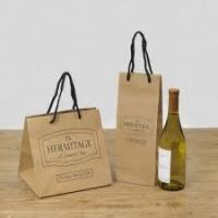 China Kraft Paper Wine Bag on sale