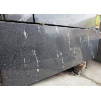 Snow Grey Granite Slabs Polished , Granite Half Slabs For Exterior Wall Cladding
