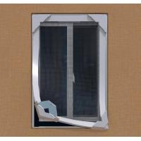 China Anti strong wind mosquito proof DIY Magnetic Fiberglass Insect Window Screen System on sale
