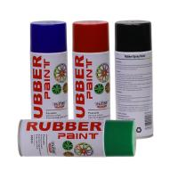 Quality Aerosol Rubber Spray Paint / Plastic Dip Spray Fast Drying Anti -  Corrosion for sale