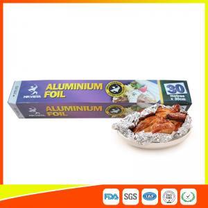 Disposable Food Grade Aluminum Foil Sheets Oil Resistant , Aluminium Sheet Roll