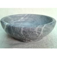 Quality Marble Stone Serving Bowl High Durability Keeping Fruit / Food Cool Fresh for sale