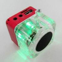 Quality Portable Speaker with Lanyard, Light, FM Radio Function, Supports TF Card for sale