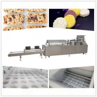Buy Food Grade Stainless Steel 4 KW Sesame Candy Bar Machinery at wholesale prices
