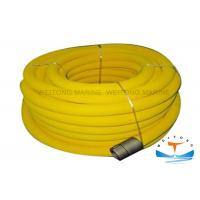 Quality Twill Weaving Marine Fire Fighting Equipment PVC Air Hose ReelPlug - In Structure for sale