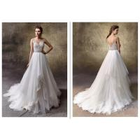 Amazing Sweetheart A Line Wedding Dress , Fashion Sleeveless Wedding Ball Gown