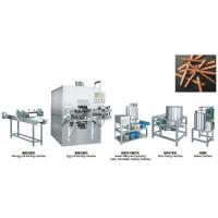 Quality 304 Stainless Steel Snack Food Production Line , Egg Roll Making Machine for sale