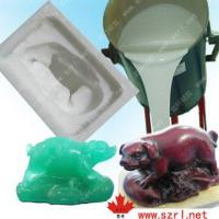 China Siilcone Molding Rubber for Poly Resin Crafts on sale