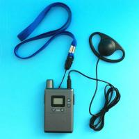 Buy cheap Hot sell handheld uhf radio wireless tour audio guide system from Wholesalers