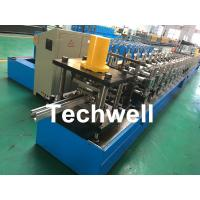 Buy cheap PPGI, Galvanized Steel Guide Rail Roll Forming Machine With Disk Saw Cutting For from wholesalers