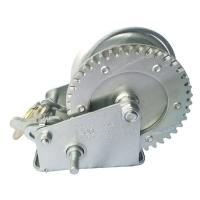 Quality 1200lbs Body Steel A3 2 Speed Manual Winch / Hand Crank Boat Winch Trailer for sale