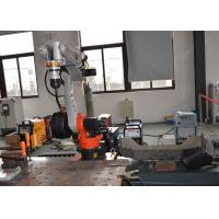 China Industrial Mig Mag CO2 Welding Robot Arm for Steel Cabinet Box on sale