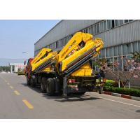 Quality 14 Ton Lifting Mobile Knuckle Boom Truck Crane SQZ420A Advanced development for sale