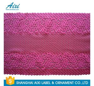Quality White Guipure Lingerie Lace / Dresses Guipure Lace / Guipure Chemical Lace Fabric Nylon Stretch Lace for sale