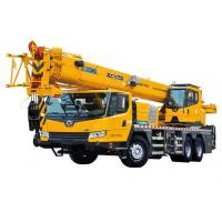Quality Energy Efficient mobile crane truck , telescopic truck boom crane XCT25L5 for sale