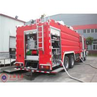 China Mercedes Chassis Light Fire Truck 6 Seats Pump Flow 140L/S With Electrical System on sale