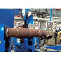 Tube Flange MIG / MAG / CO₂ Automated Welding Machines For Tube Intersection Line