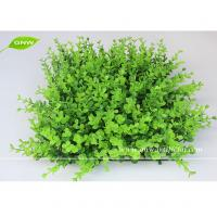 Quality GNW BOX014 Artificial Grass Panel Plastice boxwood mat plants garden decking for sale