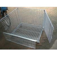 Buy cheap Removable Wire Mesh Container,Foldable Metal Mesh Cage,50x50mm,Galvanized or PVC from wholesalers